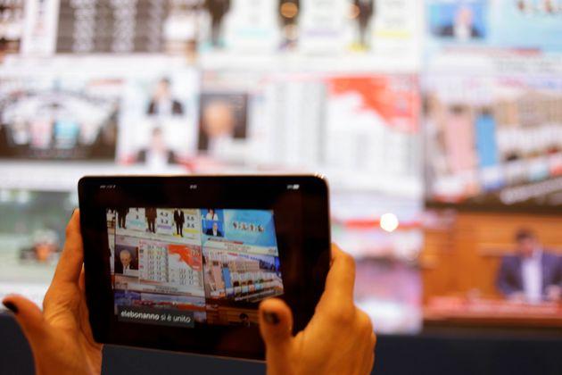 320 διαπιστευμένοι δημοσιογράφοι, 80 από διεθνή ΜΜΕ στο κέντρο Τύπου στο Ζάππειο για τις