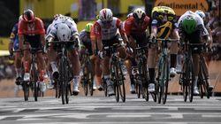 Un premier maillot jaune tout à fait improbable sur le Tour de