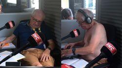 Le commentateur du Tour de France sur RMC a l'air à l'aise. Vraiment à