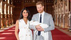 Los duques de Sussex comparten dos imágenes del bautizo de su hijo