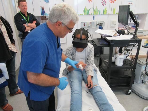 La réalité virtuelle utilisée pour soulager les