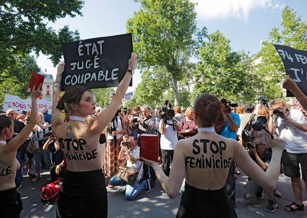 Ce samedi 6 juillet, une grande manifestation pour demander au gouvernement d'agir contre les féminicides...