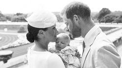 Harry et Meghan Markle dévoilent des photos adorables du baptême de leur