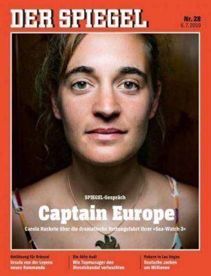 Το πρωτοσέλιδο του Spiegel βαπτίζει τη Καρόλα Ρακέτε σε υπερηρωίδα «Captain