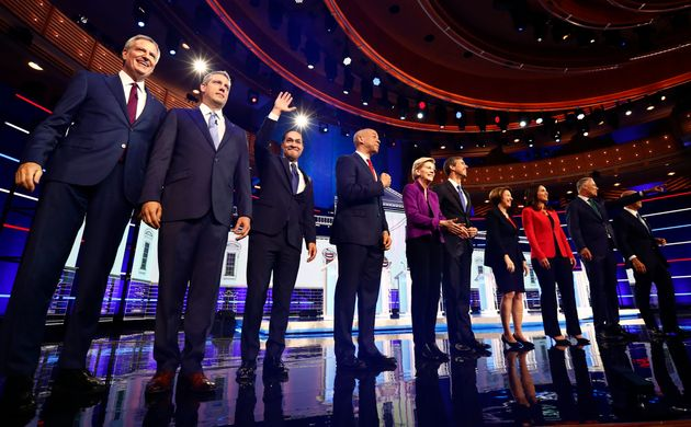 Democratic presidential candidates prepare for the first primary debate on June 26. Julián Castro...