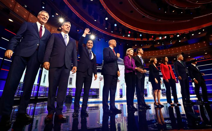 Democratic presidential candidates prepare for the first primary debate on June 26. Julián Castro challenged the rest