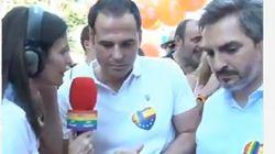 La incómoda pregunta de una periodista de Telemadrid a Ignacio Aguado (Cs) durante la marcha del