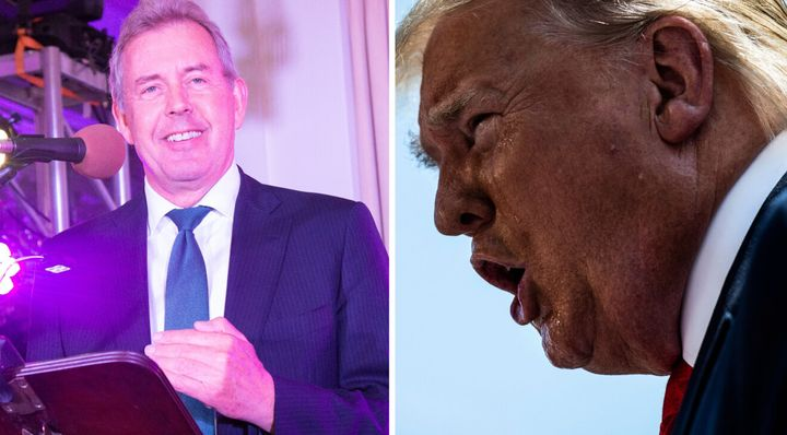 Sir Kim Darroch, left, has been Britain's ambassador to the U.S. since 2016.