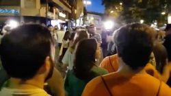 Ciudadanos sale escoltado del Orgullo y Arrimadas culpa a PSOE y