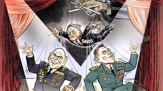 Ben Garrison, anti-Semitic cartoon, White House