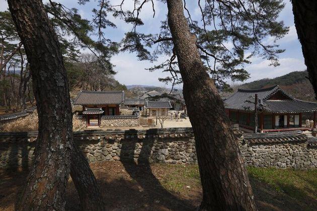 이번에 유네스코 세계유산에 등재된 서원중 건립연대가 가장 이른 경북 영주 소수서원. 1543년 조선 최초의 서원으로 세워졌다.문화재청