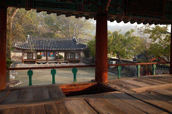 전북 지역의 대표적인 조선시대 서원인 무성서원의 경내 모습.