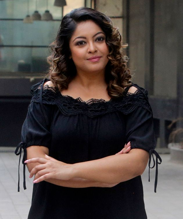 Actress Tanushre Dutta in a file