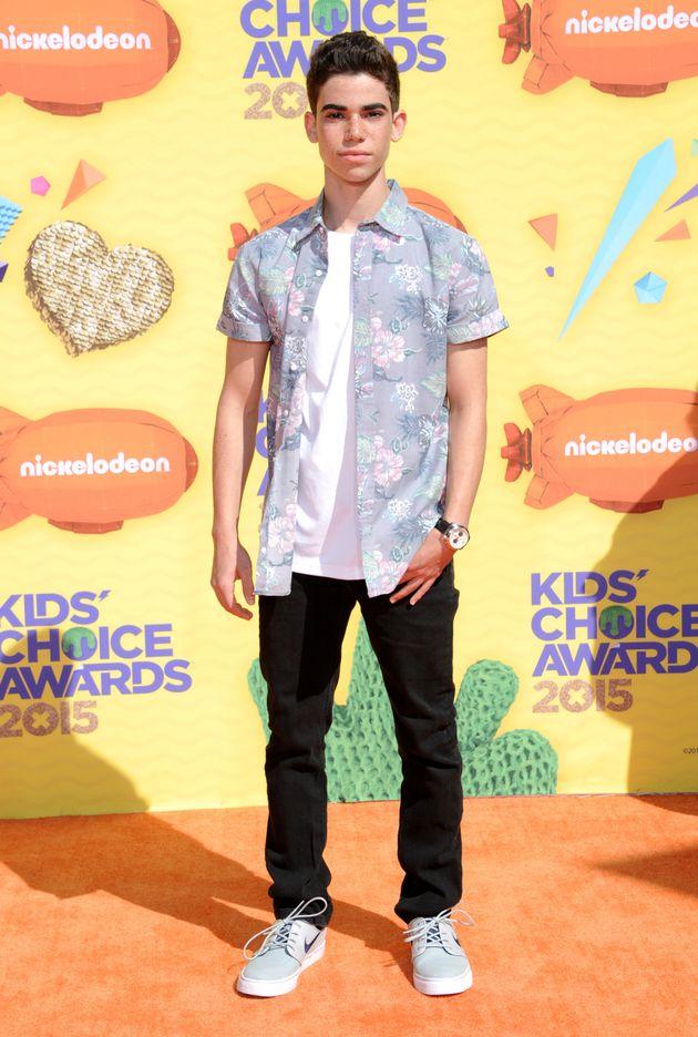 Cameron at the 2015 Kids' Choice