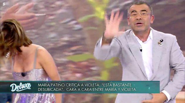 Jorge Javier Vázquez abandona 'Sábado Deluxe' en medio de la entrevista a