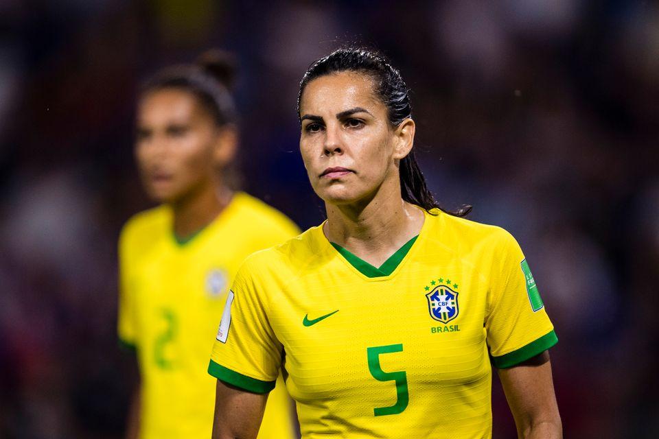 Pela primeira vez na história, a seleção Brasileira teve um uniforme exclusivo e...