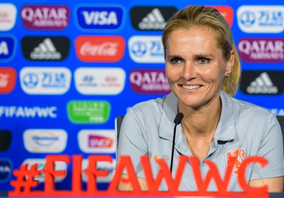 Sarina Wiegman, treinadora da Holanda, é exemplo de que astransformações na...
