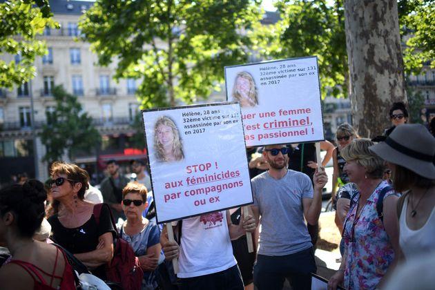 Samedi 6 juillet, une manifestation appelant le gouvernement à prendre des mesures contre les...