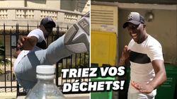 Ahmed Sylla rate son Bottle Cap Challenge pour la bonne