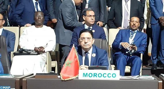 Nasser Bourita représente le roi Mohammed VI au Sommet de l'UA à