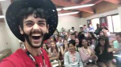 Este profesor español arrasa por lo que confesó a sus alumnos el último día de