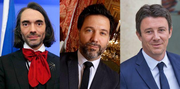 Cédric Villani, Hugues Renson et Benjamin