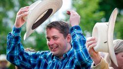 Scheer en tournée au Stampede de Calgary pour renforcer ses