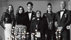 D'origine marocaine, la mannequin Nora Attal pose en famille pour Vogue