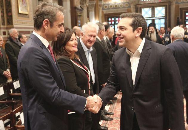 Συγχαρητήρια Αλέξη Τσίπρα σε Κυριάκο