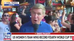 World Cup Fans Chant 'F*** Trump' During Fox News Live