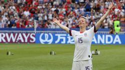 Megan Rapinoe, o brilho extra desta Copa do Mundo de futebol
