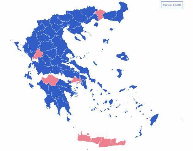 Elecciones en Grecia: La derecha logra la mayoría absoluta ante el desplome de