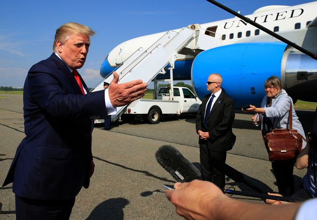 Trump promet d'ouvrir les centres de détention pour migrants à la