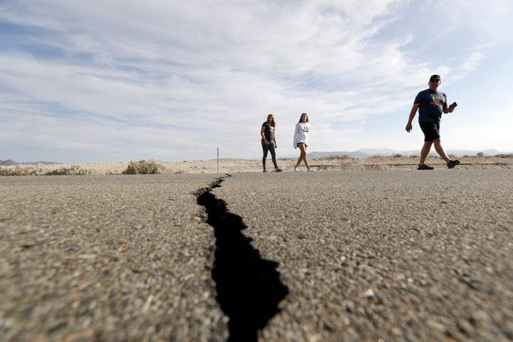 The quakes were centered around the small town of Ridgecrest, about 150 miles from Los Angeles. There were no major injuries