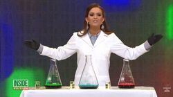 미인대회에서 노래와 춤 대신 과학 실험을 선보인 참가자가 왕관을