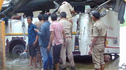 29 Killed As Bus Skids Off Yamuna Expressway Into Canal Near