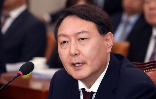 """윤석열 """"2015년 총선출마 제의받았지만"""