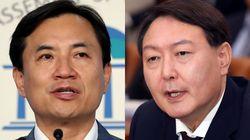 김진태 의원이 윤석열 후보자가 미래를 보지 못했다고
