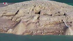 La siccità del Tigri fa riemergere i resti di una civiltà