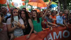 Un concursante de 'MasterChef' marcha con Ciudadanos en el Orgullo LGTBI y le llueven