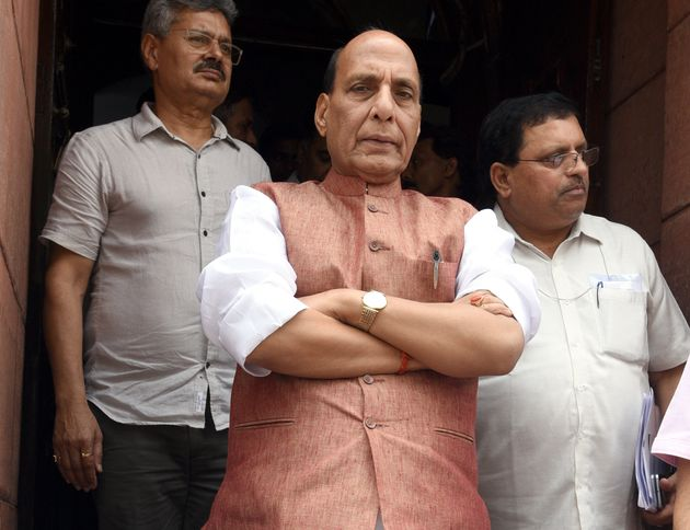 Karnataka Crisis: Rajnath Singh Denies BJP Interference After Congress Accuses Party Of
