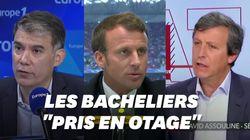 Les propos de Macron sur les profs grévistes choquent la gauche et les