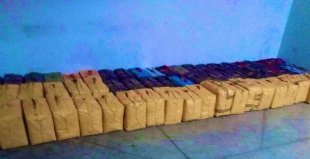 Plus de 27 tonnes de résine de cannabis saisies au port de
