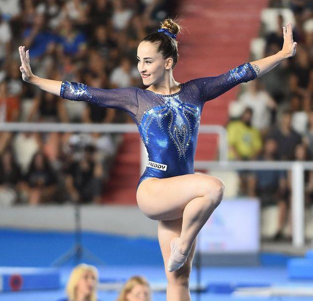 Carlotta Ferlito si aggiudica l'oro nel corpo libero alle Universiadi: