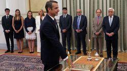 El conservador Mitsotakis jura el cargo como nuevo primer ministro