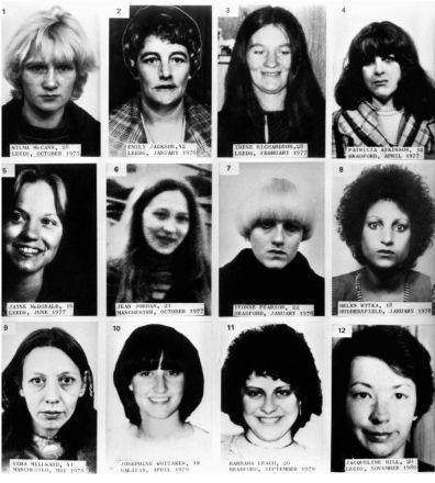 Twelve of the Ripper's 13