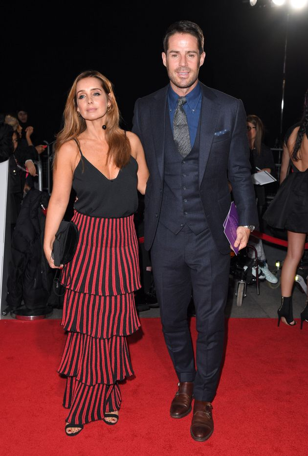 Louise and ex-husband Jamie pictured together in