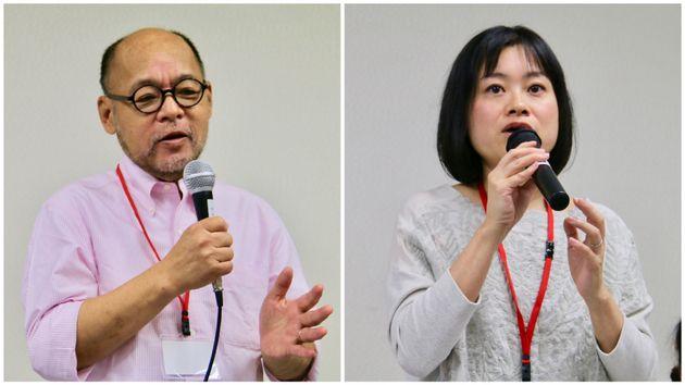 佐藤さん(左)と西川さん