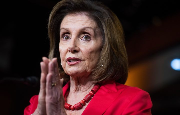Nintety-five Democrats voted against the border bill Majority Leader Mitch McConnell sent over from the Senate, which Pelosi chose not to amend.