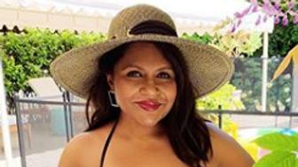 Mindy Kaling beach body